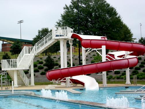 Aquatic Opc Slide University Recreation
