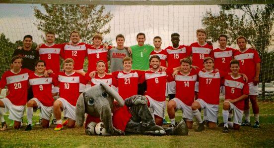 Photo of the Men's Soccer Team